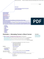 Alternating Current vs Direct Current - Electronics Questions and Answers Page 6