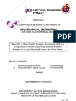 C5307 Proposal Format