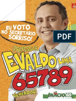 Banner Professor Evaldo Lima 65789