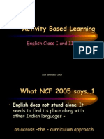 Principles of effective activity based participative learning. Upda….