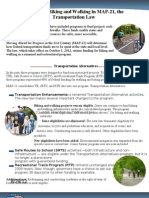 Transportation Alternatives One-pager 081512
