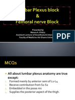 Lumb Plexus Femoral
