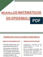Modelos matemáticos en epidemiologia