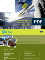 A Five-year Strategy for Tourism in British Columbia 2012 - 2016