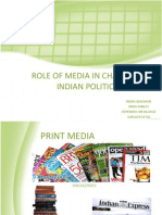 Role of Media in Changing Indian Politics And