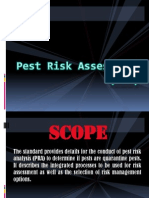 Pest Risk Assessment