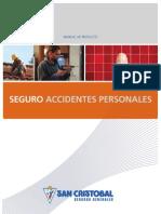 Manual de Produco - Seguro de Accidentes Personales