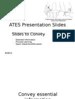 Presentation Slides for UD Workshop 29 August 2012