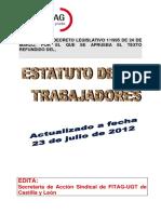 Estatuto de Los Trabajadores Fitag-cyl Actualizado 23 07 2012