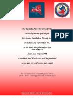 WL Fundraiser Invite