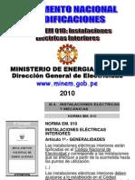 Norma EM.0.10 Instalaciones Electricas Interiores
