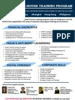 In-House Training Program Brochure