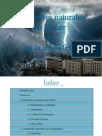 Catastrofes Atmosfericas en el mar y en tierra
