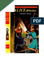 Caroline Quine Alice Roy 01 IB Alice Détective 1930