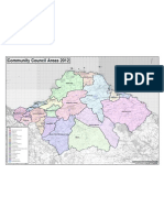 Community Council Areas 2012