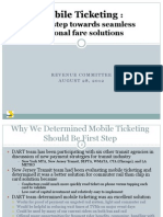 DART Mobile Ticketing Presentation
