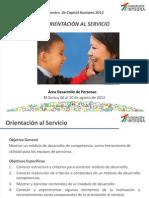ppt4 Orientación al servicio 070812