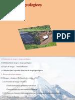 Los riesgos geológicos