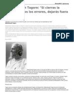 Rabindranath Tagore Historia y Poemas