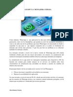 Whatsapp y La Mensajeria Cifrada