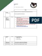 Department Meeting Agenda Minutes August 27 2012