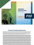 Kindred Investor Presentation
