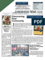 HONNA September 2012 Newsletter