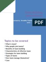 Team Building Interventions - Od