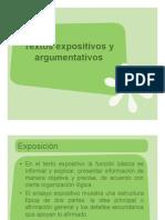 Guía para redactar textos expositivos y argumentativos