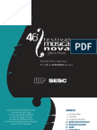 46° Festival Música Nova Gilberto Mendes