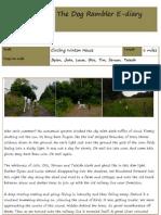 The Dog Rambler E-diary 27 August 2012