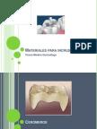 Materiales Para Incrustaciones Dentales