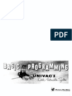 UNIVAC1 Programming 1959