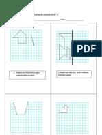 prueba 8° geometria Transformaciones isométricas