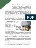 Resumen Icfes Lenguaje. Figuras Literarias.