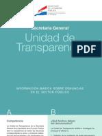 Informativo Sobre La Unidad de Transparencia