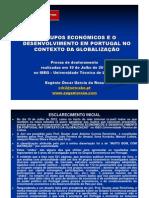 Grupos Económicos em Portugal - 2012
