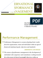International Performance Management.