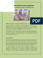 Projet Premiere Periode 2011 2012 Segundo de Bachillerato