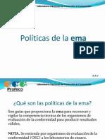 Políticas de la ema