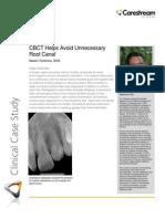 Carestream - Cohenca Endo Clinical Case - August 2012
