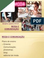 Moda e Comunicação 1