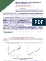 4-Horiz-Escenarios de emisiones futuras en el Sistema Energético Mexicano-Resumen por Carlos Javier  Flores Saracho