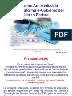 Evaluación Plataforma e-Gobierno del DF v 2.0 (6-julio-2010) por Carlos Flores Saracho