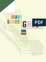 2011 Many Shades of Green