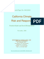 California Climate Risk and Response