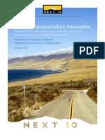 Driving Transportation Innovation