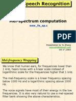 04 Mel-Spectrum Computation