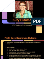 Profil Suzy Hutomo ( the Body Shop Indonesia)