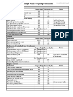 955i Torque Specifications